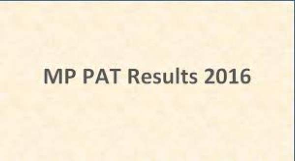 MP PAT Results 2016