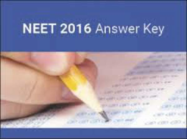 NEET Phase 2 Answer Key 2016