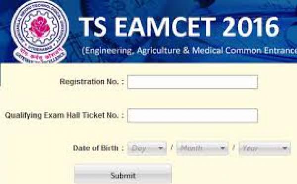 Telangana TS EAMCET 2 Answer Key 2016