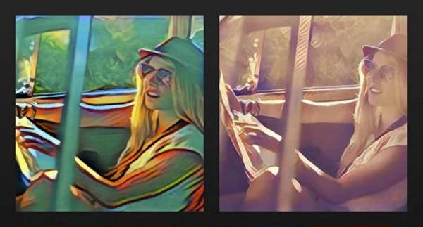 Prisma updates app with split-screen and cropping features