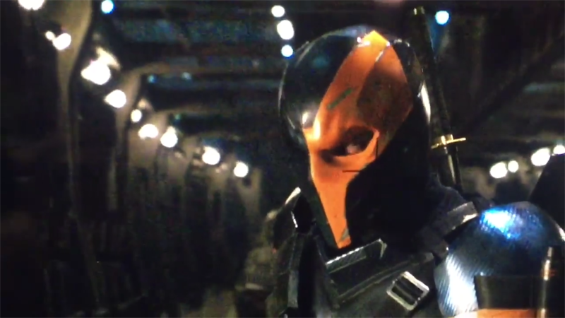 Deathstroke In Batman Solo Movie