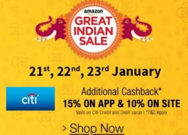Amazon India's Great Indian sale starts today