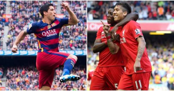Liverpool vs Barcelona Live Score