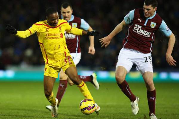 Burnley vs Liverpool Live Score