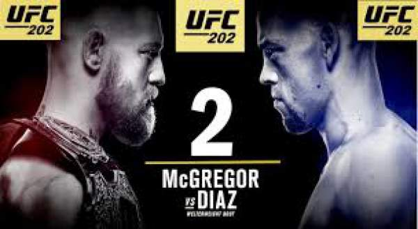 Nate Diaz vs Conor McGregor UFC 202 Live Streaming