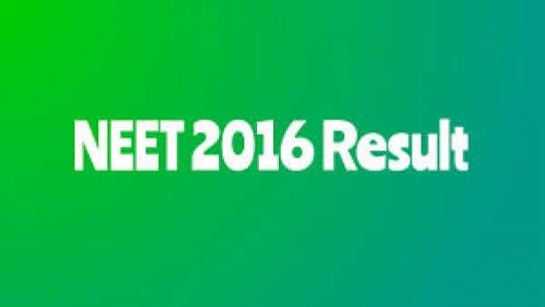 NEET Result 2016