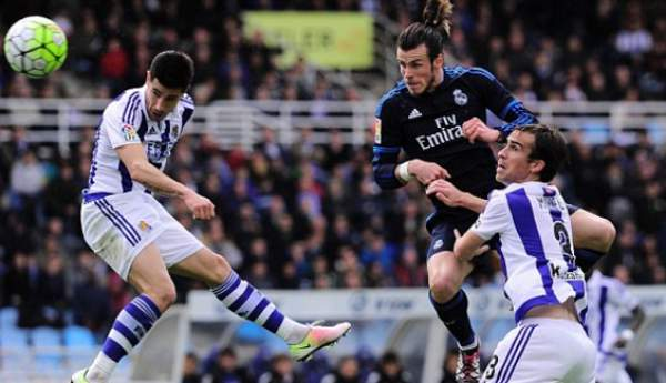 Real Sociedad vs Real Madrid Live Score