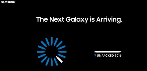 Samsung Galaxy Note 7 Live Streaming Launch Event