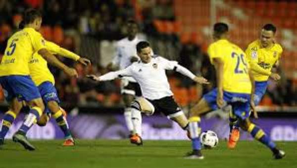 Valencia vs Las Palmas Live Score