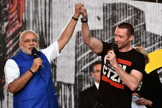 Who didn't loves pop. Even Hugh Jackman joins PM Modi on stage while taking pledge to eradicate poverty from the world.