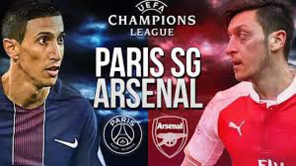 Paris SGvs Arsenal Live Score