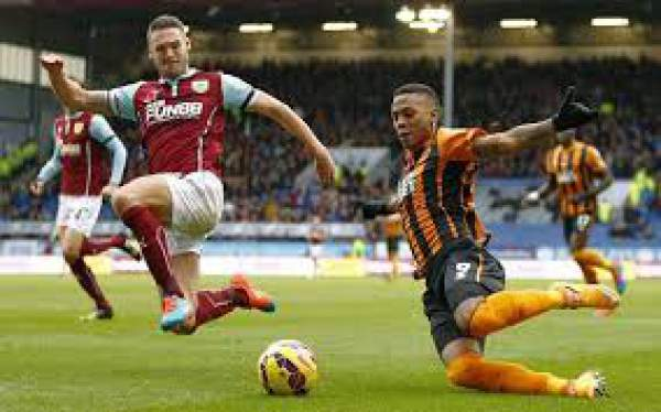 Burnley vs Hull City Live Score