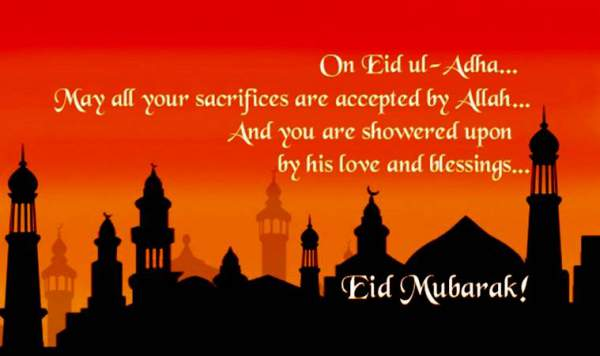 Happy Eid al Fitr Mubarak 2017 Wishes, Greetings, SMS, Messages, Quotes, Status for Eid ul Fitr