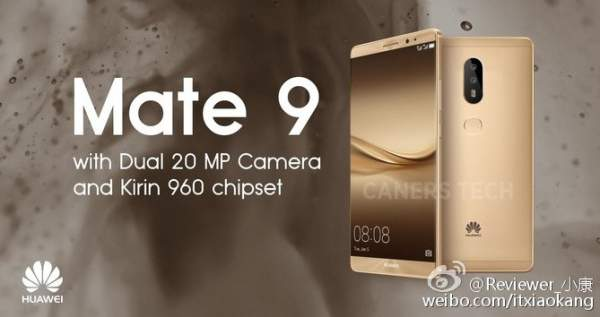 Huawei Mate 9 Release Date, Specifications, Price, Features