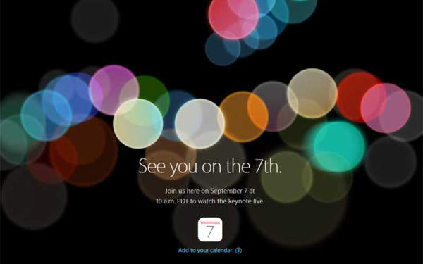 iPhone 7 Launch Live Streaming