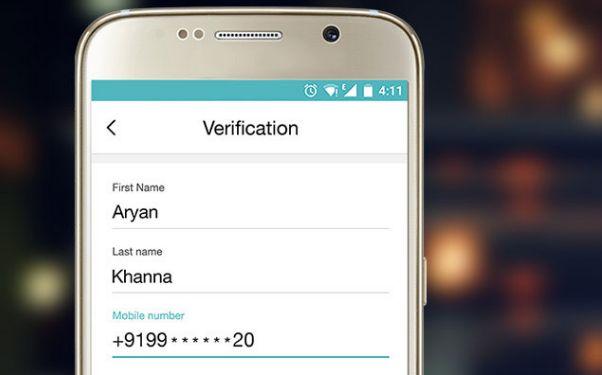 Enter verification details to get unlimited internet