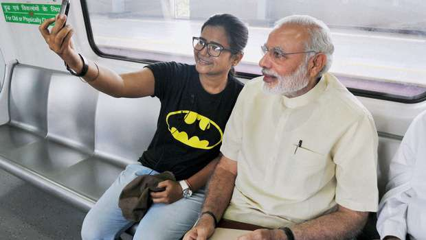 Too common for the first person of India - PM Modi travelled in Delhi Metro once which surprised the commuters as not much extensive security measures were taken. Too common for the first person of India - PM Modi travelled in Delhi Metro once which surprised the commuters as not much extensive security measures were taken.