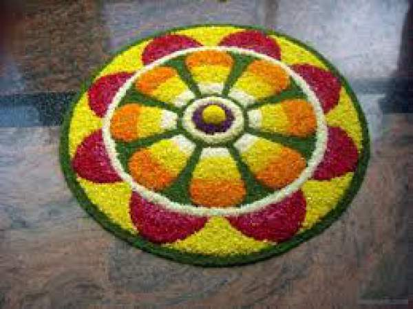 Happy Onam 2018 Images Wallpapers, Onam Pookalam Rangoli Designs Pictures Photos