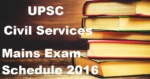 UPSC Main Examinations Date and Time Table for Civil Services schedule release – Download Now