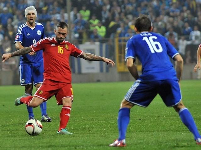 Belgium brush aside Bosnia 4-0 in World Cup qualifier