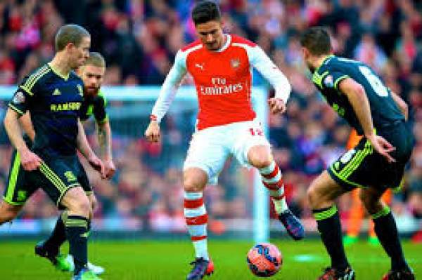 Arsenal vs Middlesbrough Live Streaming