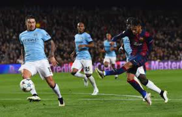 Barcelona vs Manchester City Live Score