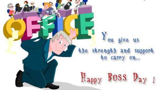 happy Boss's Day 2018 images Quotes, Messages, Wishes, Cards, Greetings National Bosses Day