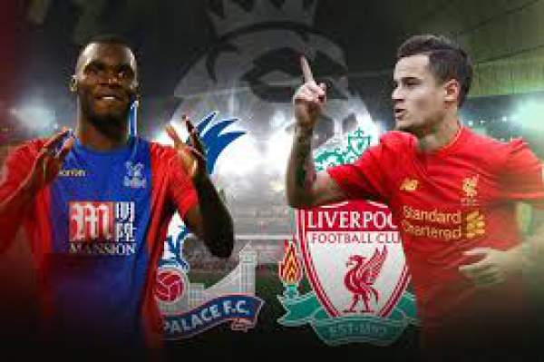 Crystal Palace vs Liverpool Live Score
