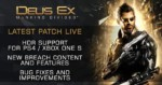 Deus Ex: Mankind Divided Latest News & Updates: Patch 1.05 Supports PlayStation 4 Pro 4K; Bugs Fixed