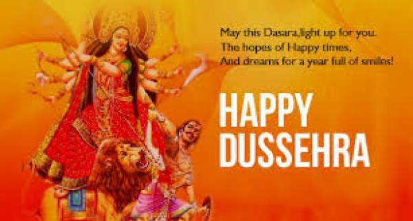 Happy Dussehra Greetings for WhatsApp, Twitter and Facebook