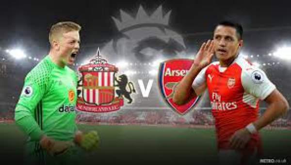 Sunderland vs Arsenal Live Score