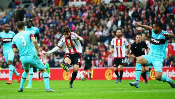 West Ham United vs Sunderland Live Score
