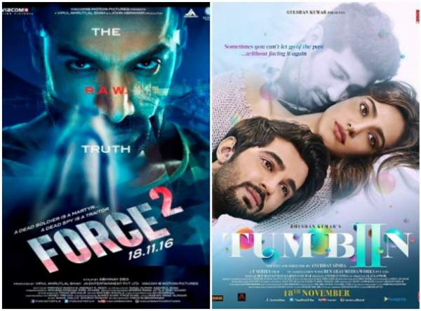 Force 2 vs Tum Bin 2 First Day Collection Opening F2 & TB2 1st Friday Box Office