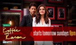 Koffee With Karan Season 5 Episode 1 6 November 2016: Shahrukh Khan & Alia Bhatt Arrive for Dear Zindagi Promotion