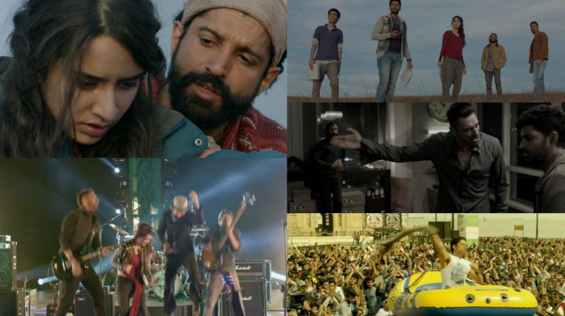 Rock On 2 Box Office Collection RO2 Collection 3rd Day / 1st Weekend/Sunday