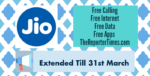"Reliance Jio Welcome Offer Extended UpTo 31st March 2017: Ambani introduces ""JIO HAPPY NEW YEAR OFFER"""