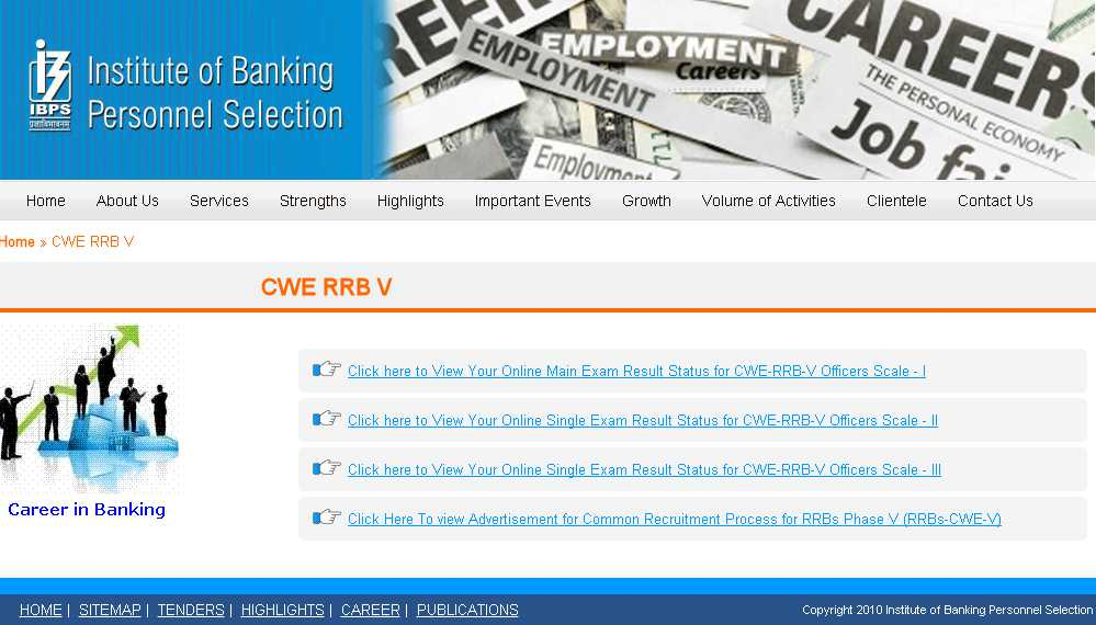 IBPS RRB Officers Mains Result 2016