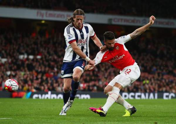 West Bromwich Albion vs Arsenal Live Streaming