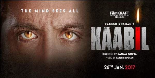 Kaabil 1st day collection opening Kabil first Wednesday box office report