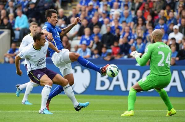 Leicester City vs Everton live score
