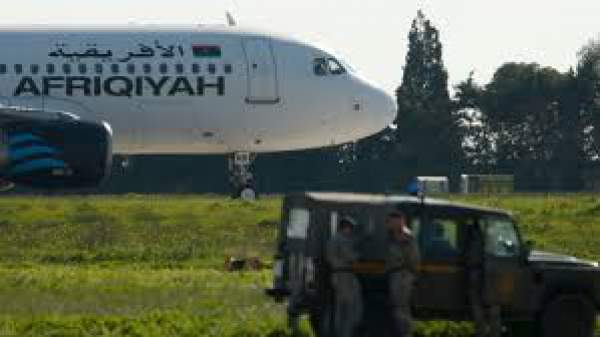 Libya Hijack: Plane Hijacked and Held With Hand Grenades in Malta