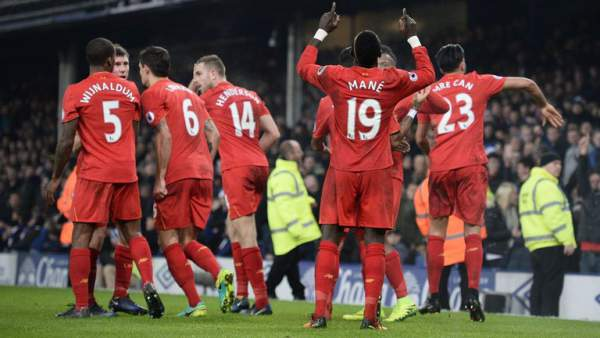 Liverpool vs Stoke City live score