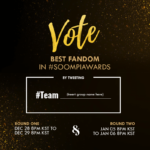 Soompi Awards 2016: Best Fandom Vote for Round 1 of 12th Annual SA