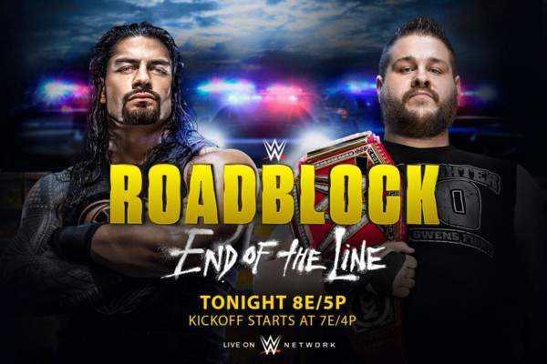 2016 WWE roadblock live streaming