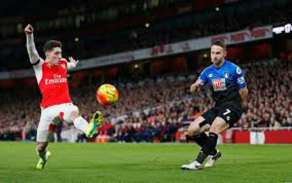 bournemouth vs arsenal live score