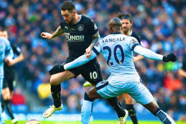 Manchester City vs Burnley live score