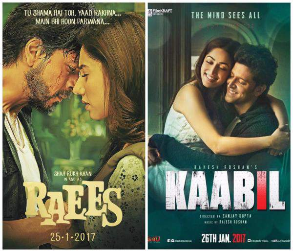 Raees, Kaabil, Raees vs Kaabil, Box Office Collection, Hrithik Roshan, Shahrukh Khan, raees vs kaabil collection