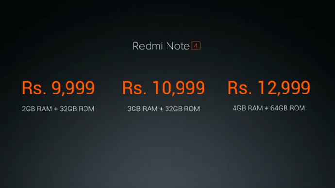 Xiaomi Redmi Note 4 Price, Specifications, Features, Flipkart Sale Date