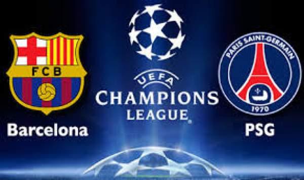 Paris SG vs Barcelona Live Streaming