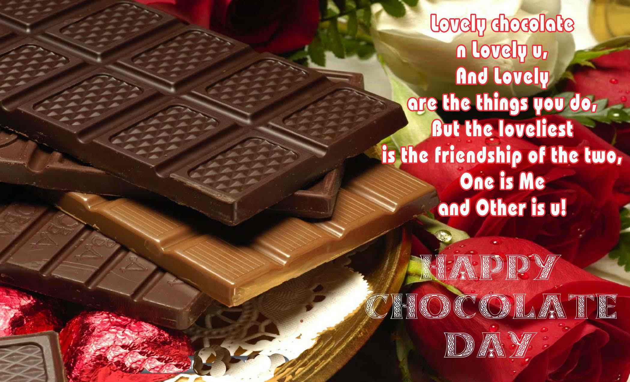 chocolate day images 2018 happy